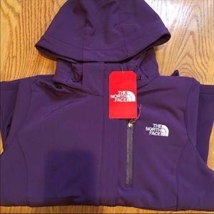 Women's Summit Series Purple Northface Jacket